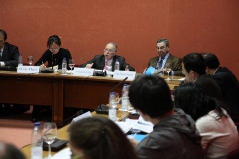 Imaxes José Antonio Orza Fernández. Licenciado en Dereito. - Xornadas sobre autonomías en España e China: Galicia como exemplo